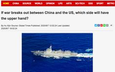 Hoàn Cầu Thời Báo: 'Nếu Mỹ - Trung chiến tranh, Trung Quốc sẵn sàng bắn phát thứ hai'