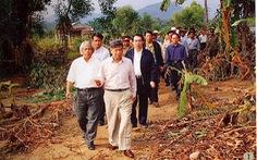 Vĩnh biệt Nguyên Tổng bí thư Lê Khả Phiêu: 'Tổ quốc kính yêu, vì Người ta xông tới'