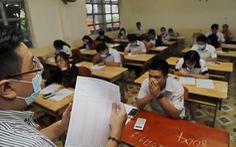 14h30 chiều nay thí sinh thi môn toán tốt nghiệp THPT