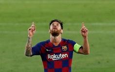 Messi ghi bàn tuyệt đẹp, Barcelona hạ Napoli vào tứ kết Champions League