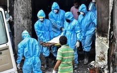 Cháy khách sạn dùng làm cơ sở điều trị COVID-19 ở Ấn Độ, 9 người chết