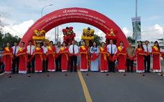 Khánh thành đường 955A gần 1.000 tỉ phục vụ an ninh quốc phòng