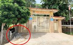 Sập tường trước cổng trường đè chết học sinh lớp 5