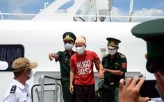 Hỗ trợ 25 ngư dân gặp nạn trên biển về quê Quảng Ngãi