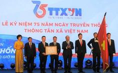 Thông tấn xã Việt Nam nhận Huân chương Lao động hạng nhất