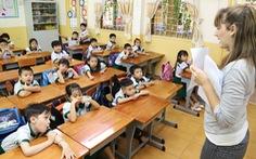 Chương trình tích hợp ở TP.HCM giảm giờ học với giáo viên nước ngoài