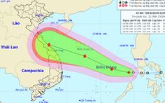 Áp thấp nhiệt đới vào Biển Đông, dự báo mạnh thành bão, biển động mạnh