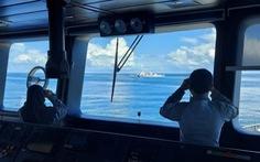 Tàu Indonesia xua tàu Trung Quốc ra khỏi EEZ sau 2 ngày 'nấn ná quá lâu'