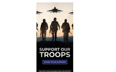 Quảng cáo ủng hộ ông Trump bị phát hiện xài... hình ảnh lính Nga