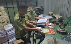 Thu giữ gần 60.000 sách giáo khoa, sách tham khảo bị làm giả