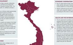 Đại sứ quán Mỹ thay bản đồ Việt Nam không có Hoàng Sa, Trường Sa, người phát ngôn VN lên tiếng