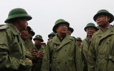 Phó thủ tướng Trịnh Đình Dũng: Phải đảm bảo an toàn cho người dân trước, trong và sau bão