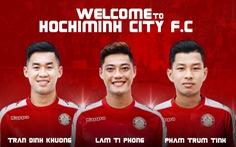 CLB TP.HCM bỏ 10 tỉ đồng mua 3 cầu thủ Khánh Hòa