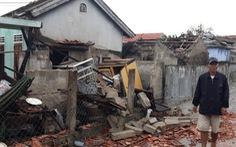 Bão đi vào giữa Quảng Trị - Thừa Thiên Huế, giảm cường độ còn cấp 7-8