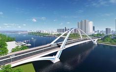 Xây cầu Trần Hoàng Na tạo điểm nhấn cho trung tâm Cần Thơ