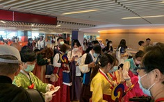 Đài Loan mở chuyến bay đến Hàn Quốc cho khách ngắm cảnh rồi... bay về