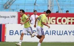 Viettel - CLB Hà Nội (hiệp 1): 0-0