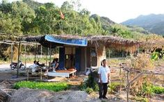 'Công trình xây dựng' cái chòi bị phạt tại sông Lô được hạ thành  lán trại
