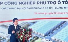 Phó thủ tướng: Nhu cầu sở hữu ôtô ngày càng nhiều, phải có ôtô thương hiệu Việt