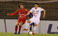 Tuyết Dung, Hải Yến, Huỳnh Như thi đấu ở giải quốc nội vì chưa thể sang Bồ Đào Nha