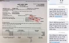 Phí nhắn tin 1.580 đồng, chậm trả một tháng bị ngân hàng phạt thành 206.000 đồng