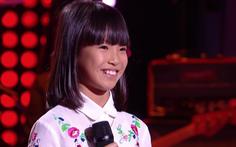 Cô bé gốc Việt hát 'Bonjour Vietnam' thi The Voice Kids Pháp