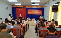 5 đại biểu làm đơn xin rút không dự đại hội Đảng tỉnh An Giang