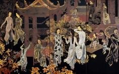 'Phiên bản' Hội đình Chèm của họa sĩ Nguyễn Văn Tỵ đạt mức giá kỷ lục gần 1 triệu đô tại Pháp