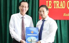 Ông Đào Gia Vượng làm chủ tịch UBND huyện Bình Chánh