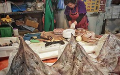Món ăn kinh dị có mùi hôi thối thu hút nhiều thực khách tại Hàn Quốc