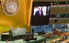 Tại Liên Hiệp Quốc, ông Trump nói Trung Quốc 'thả' dịch bệnh ra thế giới