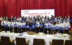 SMEI Việt Nam trao chứng chỉ cho sinh viên Đại học Tôn Đức Thắng
