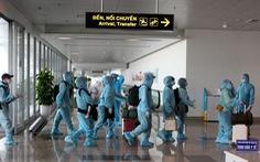 Chuyến bay thương mại quốc tế đầu tiên chở khách từ Hàn Quốc về Việt Nam