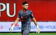 Mới vào đội hình tiêu biểu của Thai League, Văn Lâm lại mắc sai lầm sơ đẳng