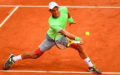 Tay vợt gốc Việt Antoine Hoang bị loại ở vòng đầu tiên Roland Garros