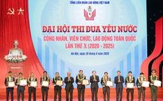Vinh danh 10 cá nhân xuất sắc tại Đại hội thi đua yêu nước công nhân, viên chức