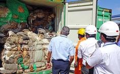 Sri Lanka trả lại Anh 21 container rác thải độc hại nhập trái phép
