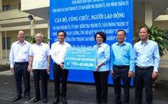 Cán bộ, công chức TP.HCM góp một ngày lương cho Quỹ Vì người nghèo