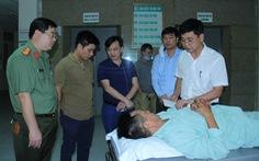 Hai chiến sĩ công an bị đâm trọng thương khi vây bắt nghi phạm buôn ma túy