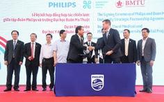 Philips và Trường Đại học Buôn Ma Thuột ký hợp đồng đối tác xây bệnh viện