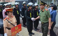 Công an TP.HCM tiếp tục ra quân trấn áp tội phạm