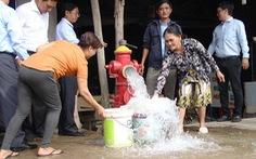 TP.HCM hoàn thành đường ống nước về Long An, 'ứng cứu' hạn mặn cận kề