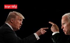 Trực tiếp: Cuộc tranh luận giữa Donald Trump và Joe Biden trong cuộc đua bầu tổng thống Mỹ