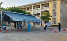 47 thí sinh Đà Nẵng vào điểm thi đặc biệt sáng 3-9