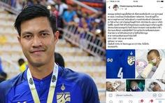 Tuyển thủ Thái Lan bị dân mạng 'khủng bố' vì đăng tin giả trên Facebook kêu gọi quyên góp