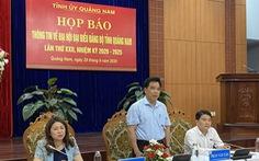 Quảng Nam tặng quà cho đại biểu dự đại hội đảng bộ tỉnh bằng nguồn xã hội hóa