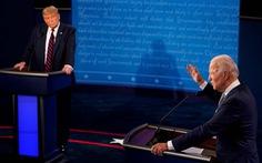 Số người xem cuộc tranh luận tổng thống Mỹ năm 2020 thua xa năm 2016