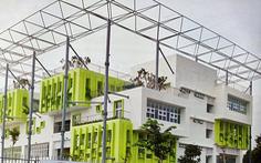 Trung tâm văn hóa Hòa Bình - TP.HCM có cơ ngơi mới hiện đại