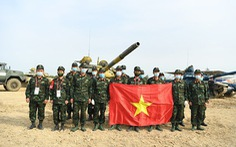 Lần đầu tiên Việt Nam vô địch bảng 2 xe tăng hành tiến của Army Games 2020