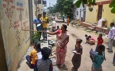 Học ngoài trời tại Ấn Độ thời dịch COVID-19